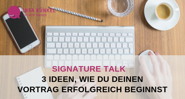 Signature Talk, Top-Vortrag